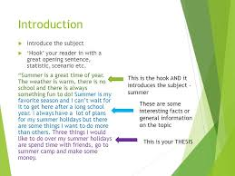 essay writing a quick overview english language arts ppt  6 introduction  introduce