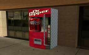 Vending Machine Mod Classy GTA San Andreas Dr Pepper Vending Machine Mod GTAinside