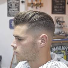 New Hairstyle Mens 2016 javithebarberhigh fade longer hair blown dry very short latest 7437 by stevesalt.us