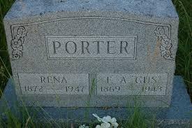 "Franklin Augustus ""Gus"" Porter (1869-1943) - Find A Grave Memorial"
