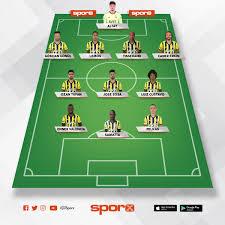 Fb bjk Sporx İlk11