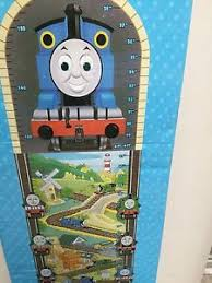 Thomas The Train Growth Chart Details About New Thomas The Tank Train Friends Growth Chart Timber Wooden
