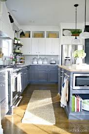 Two tone cabinets Trend White And Gray Kitchen Cabinets Ideastand Stylish Two Tone Kitchen Cabinets For Your Inspiration 2017