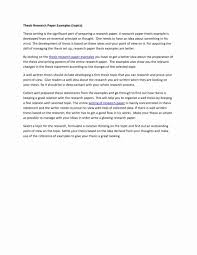 Thesis Example Essay 012 An Example Of Research Paper Thesis Statement Essay