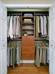 reach in closet sliding doors. Reach In Closet Custom Closets Cherry Features Include Double Hanging And Standard Drawer Unit Sliding Doors