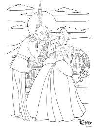 18 x disney princess colouring pages. Disney Princess Cinderella And Prince Charming Coloring Page Crayola Com