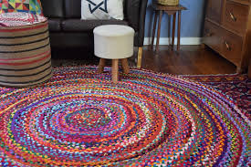 100 lessons i learned from round rugs colourful