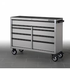 Craftsman 6 Drawer Rolling Cabinet Craftsman New 53 Inch 9 Drawer Stainless Steel Roller Cabinet