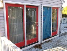 installing vinyl siding around garage door sliding glass patio doors installation ma