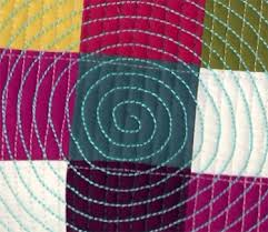 Learn Machine Quilting Designs: How to Stitch a Spiral - Quilting ... & Learn Machine Quilting Designs: How to Stitch a Spiral – Quilting Daily Adamdwight.com