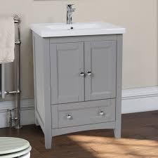 bathroom features gray shaker vanity: elegant lighting danville ampquot single bathroom vanity set