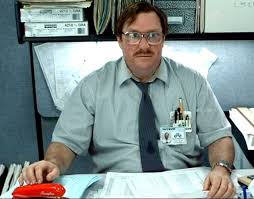 office space computer. Milton From Office Space. \ Space Computer H