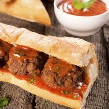 subway meatball sandwich. Plain Subway Copycat Subway Meatball Sandwich On E