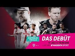 """""""bayern münchen hat eine überragende mannschaft. Trailer Kostenlos Fur Alle 1 Fc Koln Fc Bayern Testspiel Magenta Sport Youtube"""
