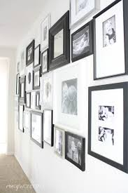 black picture frames wall. Hallway Gallery Wall Black Picture Frames M