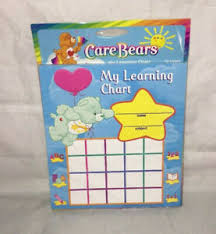 Details About Care Bears My Learning Chart 2003 Learning Horizons