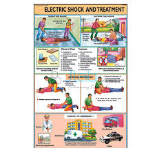 Laboratory First Aid Chart Electric Shock Treatment Chart India Electric Shock