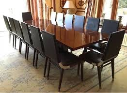 amazing rrp 27500 kesterport 14 seater fifth avenue walnut dining office 14 seater dining table designs dining room