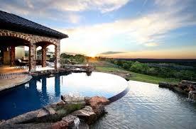 infinity pool backyard. Beautiful Backyard Infinity Pool