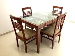 dining table glass top elegant wooden dining table with glass top wood and tables room good in decor wooden dining table with glass top india