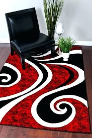 black red white area rugs grey and gray rug modern contemporary swirl carpet abstract you can black red white area rugs