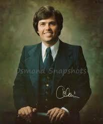 Alan Osmond   The osmonds, Celebrity singers, Classic hollywood