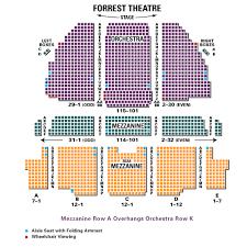 Forrest Theater Philadelphia Seating Chart Hamilton 2019 10 26 In 1114 Walnut St Cheap Concert Buy