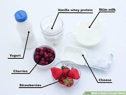 image titled make a protein shake step 1