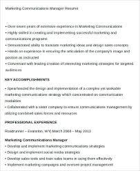 24 Best Marketing Resume Templates Pdf Doc Free Premium