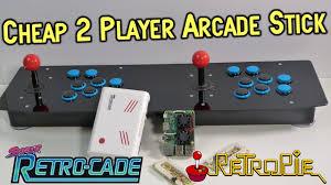 Cheap <b>2 Player</b> Pi 3 USB <b>Arcade Stick</b> Review & Super Retro-Cade ...