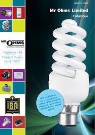 Cooper R10 Light Bulb Pl C 13w Mr Ohms Iba Catalogue By Daniel Jones Issuu