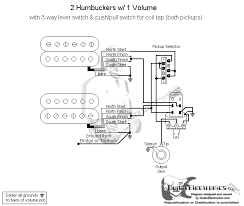 guitar wiring diagram 2 humbucker 1 volume guitar push pull volume pot wiring push auto wiring diagram schematic on guitar wiring diagram 2 humbucker