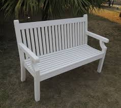 white garden bench. Contemporary White Small Image Of Sandwick Winawood 3 Seater Wood Effect Garden Bench  White  Finish Inside