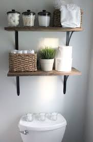 space saving ideas for small bathrooms. integrate space saving shelves in the bathroom \u2013 idea # 15 ideas for small bathrooms