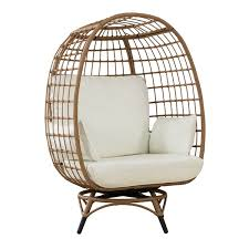sunjoy randy swivel patio egg chair