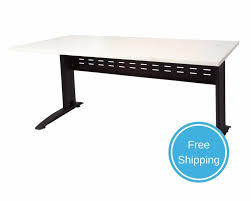 office computer tables. NEW White Black Modern Office Computer Desk Rapidline Rapid Span Tables