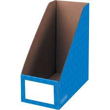 Blue Magazine Holder Fascinating Fellowes Banker's Box 322 Magazine File Holder Blue 32pk Walmart
