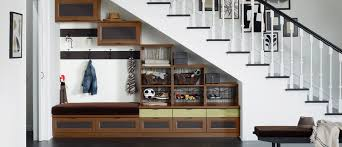 Under stairs closet organization Stairs Cupboard Tips For Smart Over And Under Stairs Storage Organization Wolfteamclub Tips For Over And Under Stairs Storage California Closets