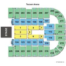 Tucson Convention Center Arena Seating Chart Unexpected Tucson Arena Seating Chart 2019