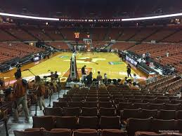 Frank Erwin Center Section 43 Texas Basketball