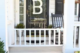 image of simple porch gates