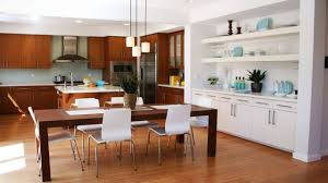 Dining Room Kitchen Contemporary Minimalist Dining Room Kitchen Combo Homeidb Modern