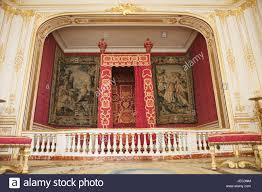 Frankreich Loire Tal Schloss Chambord Innenaufnahme Schlafzimmer