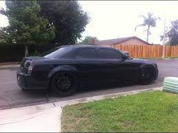 chrysler 300 srt8 black. 2006 chrysler 300 srt8 magnaflow exhaust srt8 black