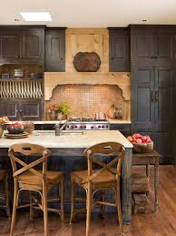 Antique Black Kitchen Cabinets Interesting Decorating Design