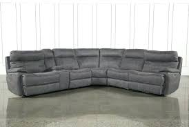 living spaces clearance sectionals grey leather sectional with recliners sofas awful