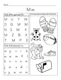 Worksheet for (very) young learners who have just started reading. 5 Letter M Worksheets Alphabet Phonics Worksheets Letter Of The Week