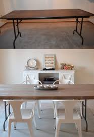 makeover furniture. 67 Furniture Makeovers That\u0027ll Totally Inspire You: Folding Table Makeover Via Find It