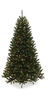 Dual Led Light Christmas Tree Noble Pine 7 5 Artificial Christmas Tree With Dual Led Lights