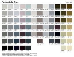 Pantone Color Selection Chart Page 7 Color Selection Chart